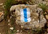 Israel (EmmaG0324) Tags: israel nature hike view beautiful rocks flowers path marker blue white symbol hiking follow rock jewish walking