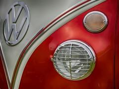 VW camper van (Emma GB) Tags: vw campervan red vehicles german grill