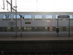 Station Essen (B) (Polaroyd7) Tags: station bahnhof gare essen belgië belgium belgique belgien vlaanderen flanders flandre flandern grens grenze border frontière nmbs sncb trein train zug bahn