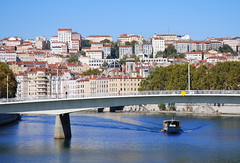 River Saone, Lyon, France. (Roly-sisaphus) Tags: lyon france europe auvergnerhonealpes lyons city