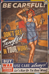 Propaganda Pinups - Be Careful! (Dietz Dolls Pinup Photography) Tags: 1940s airplane bonds factory girl industrial legs model photography pinup pinups poster propaganda retro riveter rosie safety stamps tangled torch vintage war welding wing woman worker world ww2 girlwoman pinuppinup rosieriveter war2 womanmodel worldwar worldwar2 retrovintage warbonds torchwing modellegs photographygirl pinupretro weldingtorch