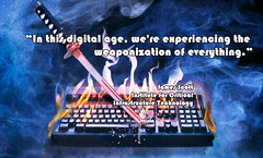 """In this #digital age, we're experiencing the weaponization of everything.""-James Scott, Senior Fellow, ICIT, CCIOS and CSWS (crystallinelamp) Tags: cyberwarfare cyberbullying digitalworld weaponized informationtechnology informationsecurity thursdaymotivation cyberwar cyberaware"