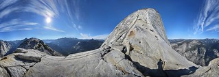 Half Dome and Sub Dome - Yosemite