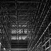 In the cobweb (pascalcolin1) Tags: paris13 austerlitz homme man échafaudage scaffolds gare station photoderue streetview urbanarte noiretblanc blackandwhite photopascalcolin 50mm canon50mm canon