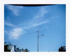 Lightpole (m.ashe7) Tags: polaroid440 polaroid fujifilm fuji fp100c outdoors sky spring instantfilm