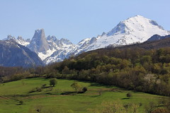 VISTA DESDE POO DE CABRALES (ASTURIAS) (mflinera) Tags: asturias poo de cabrales montañas nieve naranjo bulnes paisaje