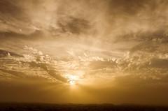 Dubai sunset (Gadjowsky) Tags: sky skyporn sunset sunshine sunrays d5100 dubai sea seaside nikon nikond5100 ambient atmosphere