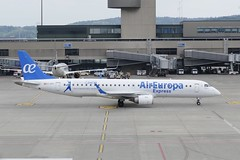 Embraer ERJ-195 Air Europa Express opby Aeronova EC-KRJ ZRH Zurich Airport Switzerland 2018 (roli_b) Tags: embraer erj195 air europa aireuropa express op by aeronova eckrj zrh zurich airport switzerland 2018 sports centre sticker scheme special zürich flughafen schweiz aeroport suisse aeropuerto suiza sivzzera aircraft airplane jet flugzeug flieger avion aereo aviacao
