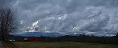 2018_0429Low-Clouds-Today-Pano0001 (maineman152 (Lou)) Tags: panorama weather rainyweather rain thunderstorms nature naturephoto naturephotography landscape landscapephoto hessianhill april maine clouds cloudy stormclouds