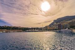 Monaco Marine (www.alexandremalta.com) Tags: sunset sunshine cloud sea monaco monte carlo mediterranean landscape seascape