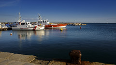 Ready - Trapani - Italy (I. Bellomo) Tags: guardia costiera coast guard trapani sicily italy sea mare
