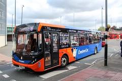 Warrington's Own Buses CH56CAT (Mike McNiven) Tags: warrington interchange warringtonsownbuses networkwarrington cheshirecat alexanderdennis enviro200 enviro200mmc mmc grappenhall northwich appleton altrincham