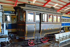 National Museum of Transport - Black Diamond (Jim Strain) Tags: jmstrain train railroad railway museum kirkwood missouri nationalmuseumoftransport reading inspectioncar steam