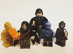 DC Villains (David$19) Tags: lego legodc legodcvillains legodcminifigures scarecrow blackhand mrfreeze bane amazo legocustomminifigures legocustomdcminifigures dccomics dcuniverse dcvillains supervillains legophotography davids19 david19