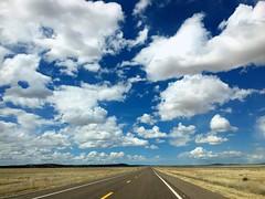 Route 66 (PeterCH51) Tags: route66 historic iconic arizona usa bluesky whiteclouds iphone peterch51 road plains scenery landscape roadtrip america