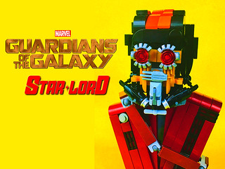 LEGO Star-Lord (Building Challenge)