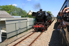 SSN 65 018 (vos.nathan) Tags: sgb stoomtrein goes borsele ssn stoom stichting nederland deutsche bundesbahn 65 018 br baureihe db s gravenpolder