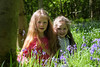 alyssia and caitlin bluebells sisters tree (grahamdale74) Tags: bluebells 2018 alyssia caitlin chel