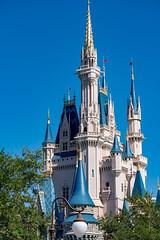 Magic Kingdom - Cinderella's Castle (gsr_jedi) Tags: cinderellascastle disney fantasyland florida lakebuenavista magickingdom unitedstates waltdisneyworld day 2018 events features locations places trips timeofday usa