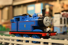 Cotswalds 'Bricks an Trains' at GWSR (WideSquare Media) Tags: bricksandtrains cotswalds lego thomas trains