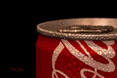 Share a Coke with... (Inky-NL) Tags: macromondays lowkey can blikje cocacola coke refreshment waterdrops cool canofsoda blikjefrisdrank ingridsiemons©2018 waterdroplets