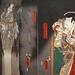 Le Fantôme de Kamata Matahachi d'U. Kunisada (Musée du quai Branly - Jacques Chirac, Paris)