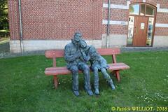 IMG_9399 (Patrick Williot) Tags: exposition vernissage ecuries sculpteur michal peintre genevieve nicolas