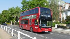 Ealing's Metroline Model Change (londonbusexplorer) Tags: metroline travel adl enviro 400 mmc hybrid teh2080 lk15csy 112 ealing broadway brent cross tfl london buses