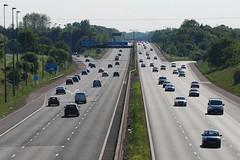 M56(W) M6 Junction (J_Piks) Tags: road motorway highway traffic m6 m56 warrington junction