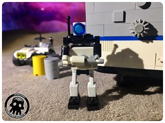 48-38 All Out of Gum (captainmutant) Tags: afol classic space lego ideas legospace legography photography minifig minifigs minifigure minifigures moc sciencefiction science fiction scifi exploration brickography toy custom