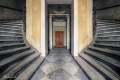 Angel (Michal Seidl) Tags: abandoned castle abbandonato palac palace casino opuštěný zámek hdr urbex schodiště staircase italy infiltration