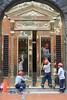 Polishing the doors, Centro Historic, Lima (Yekkes) Tags: work labour cleaners polishing men street urban door peru lima centrohistorico latinamerica city hardhats edificioweiss
