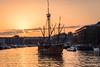 The Matthew, Bristol, UK (KSAG Photography) Tags: ship boat caravel sailing sunset bristol uk england unitedkingdom britain maritime marine history heritage nikon city urban landscape april 2018 spring