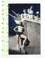 Ana by Tremu For Grunge N'Art Mag (tremu_photography) Tags: instax instaxwide instant fashion girl editorial mag fujifilm film babe photographer