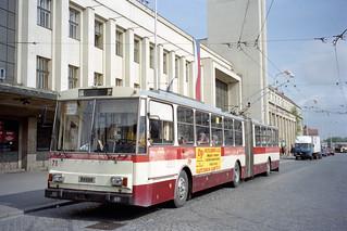 1999-05-11 Hradec Králové Trolleybus Nr.71