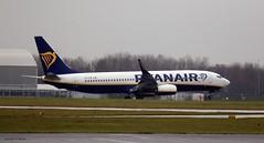 Ryanair EI-FZB J78A1496 (M0JRA) Tags: ryanair eifzb manchester airport planes flying jets biz aircraft pilot sky clouds runways