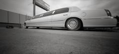 Limousine, Portland (austin granger) Tags: limousine portland oregon pinhole stretch distortion absurd zeroimage 6x12 length limo nightclub film