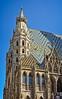 Stephansdom (Tigra K) Tags: 2017 architecture church city gargoyle gothic lattice mosaic ornament romanesque roof spire tiles tower vienna window wien austria at pattern arch