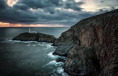 A wild sunset (davidcoates43) Tags: longexposure weather sea ynysmon holyhead southstack anglesey sunset lighthouse