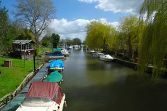 The Canterbury Circle.....Section two, Canterbury - Grove Ferry and through the Blean. (favmark1) Tags: kent grove groveferry stour riverstour canterbury canterburycircle walk longdistancepath spring