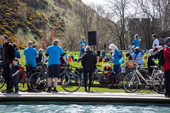 #POP2018  (197 of 230) (Philip Gillespie) Tags: pedal parliament pop pop18 pop2018 scotland edinburgh rally demonstration protest safer cycling canon 5dsr men women man woman kids children boys girls cycles bikes trikes fun feet hands heads swimming water wet urban colour red green yellow blue purple sun sky park clouds rain sunny high visibility wheels spokes police happy waving smiling road street helmets safety splash dogs people crowd group nature outdoors outside banners pool pond lake grass trees talking bike building sport