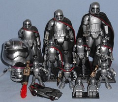 My Phasma Collection (Darth Ray) Tags: star wars captain phasma collection starwars captainphasma hotwheels lego hot wheels hasbro galactic heroes galacticheroes hallmark ittybitty 334inch figures itty bitty 3 34 inch episode7 blackseries forcelink valuefigure 6inch value figure black series 6 disney elite