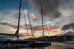 Martinique - Le Marin (Ben.2BR) Tags: bateaux couchédesoleil fwi lemarin marina martinique sunset voiliers mq