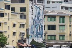 Street Art Bangkok (MYounger14) Tags: streetart bangkok thailand bicycle