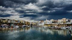 Se avecina lluvia (candi...) Tags: lametllademar pueblo barcos cielo nubes mar agua nublado barcas sonya77
