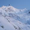 Zinalrothorn (twoeye) Tags: hauteroute alps zinalrothorn contax g90 glacier crevasse peak mountain snow pink blue dusk