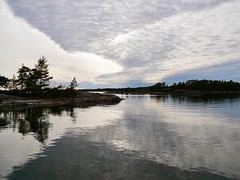 Långholmen (docwiththecamera) Tags: sky island cloud water sea archipelago seascape
