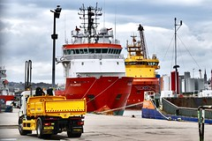FS Carrick - Aberdeen Harbour Scotland - 3/5/2018 (DanoAberdeen) Tags: danoaberdeen aberdeen autumn amateur abdn abz aberdeencity aberdeenscotland aberdeenharbour vessels spring scotland scottish seaport seafarers schotland psv pocraquay platformsupplyships port winter water workboats wasser ecosse escotia riverdee tug tugboat transport tugboats ukshipspotters uk unitedkingdom iskoçya imo offshore oilships oilrigs offshoreships maritime merchantnavy metallicobjects northseasupplyships northsea bluesky boats vessel cityofaberdeen cargoships candid clouds harbour docks errv response rescue fscarrick navigation sailor scotch channel ship boat ships geotagged
