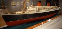 Model of the Queen Elizabeth (RockN) Tags: model liner queenelizabeth june2017 peabodyessexmuseum salem massachusetts newengland