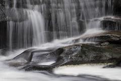 years of erosion (marianna_a.) Tags: p2180831 rickettsglenn pennsylvania usa mariannaarmata water waterfall longexposure erosion rock smooth polished